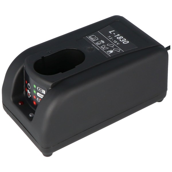 Akku Power Schnell-Ladegerät L-1830 7,2 - 18 Volt Ladestrom 3A