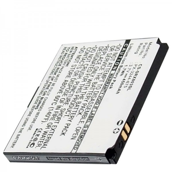 Akku passend für den Simvalley Pico RX-80, RX-180 Handy Akku BILD-Mini-Handy