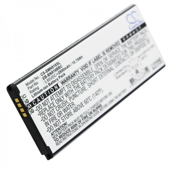 Akku passend für den Samsung SM-N910 Akku Galaxy Note 4, 2800mAh