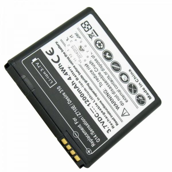 Akku passend für HTC Desire 310 Akku 35H00221-00M mit 1200mAh