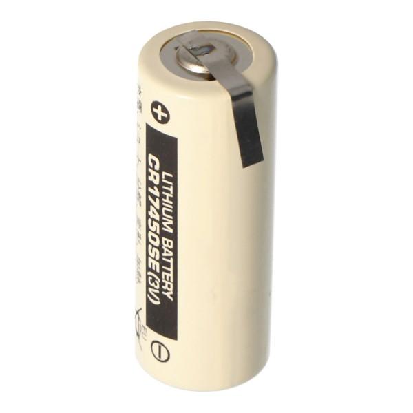 Sanyo Lithium Batterie CR17450SE Size A, mit Lötfahne Z-Form