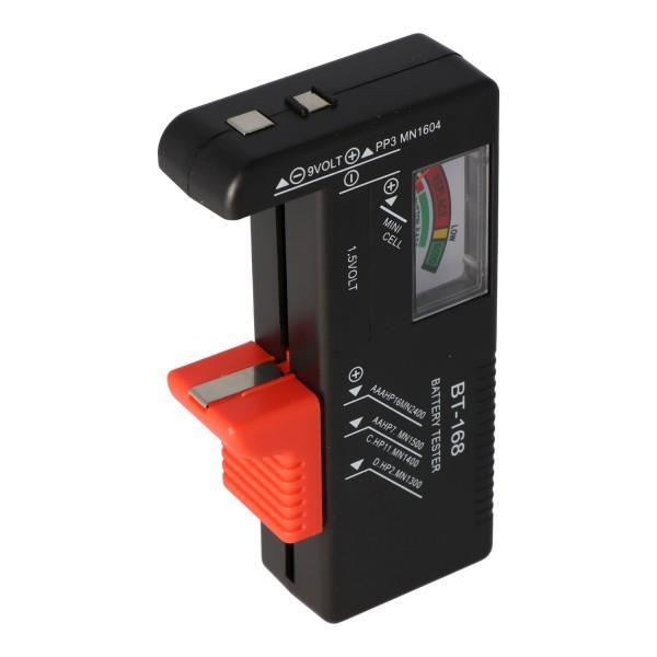 Batterie-Tester für AA, AAA, AAAA, C, D, 9V Batterien und Akkus
