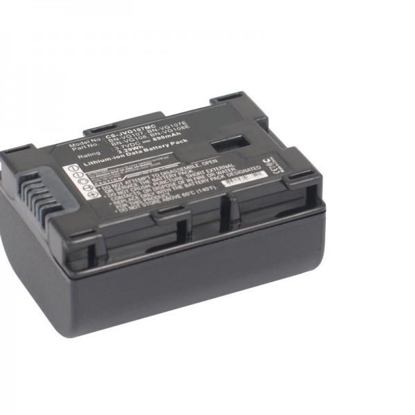 BN-VG107 kompatibler Ersatz-Akku von AccuCell mit 890mAh