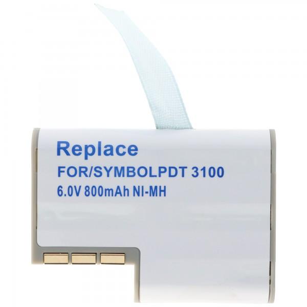 AccuCell Akku passend für Symbol PDT3100, 3110, 3120, 3140, 3142