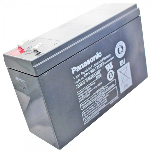 Panasonic UP-RW1220P1 Akku Blei 12Volt 4Ah 6,3mm Steckkontakte